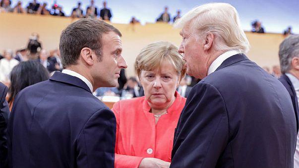 G20: Merkel faz apelo em manhã marcada pelo aperto de mão de Trump a Putin