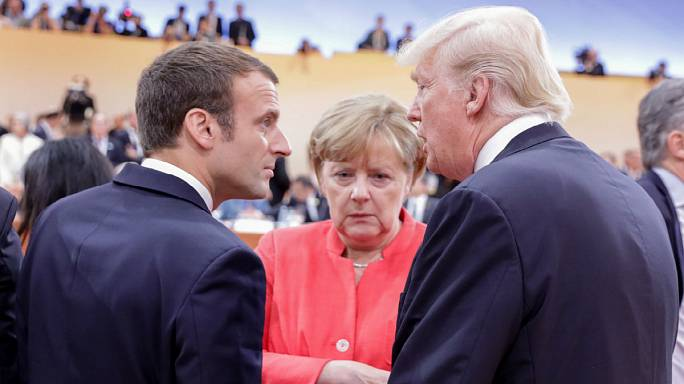 G20 host Merkel tries to forge consensus in Hamburg