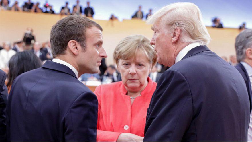 Merkel eröffnet G20-Gipfel - Trump 1. Redner