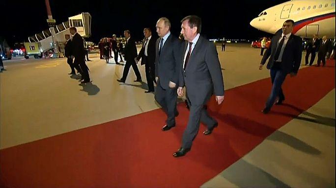 Путин прибыл в Гамбург