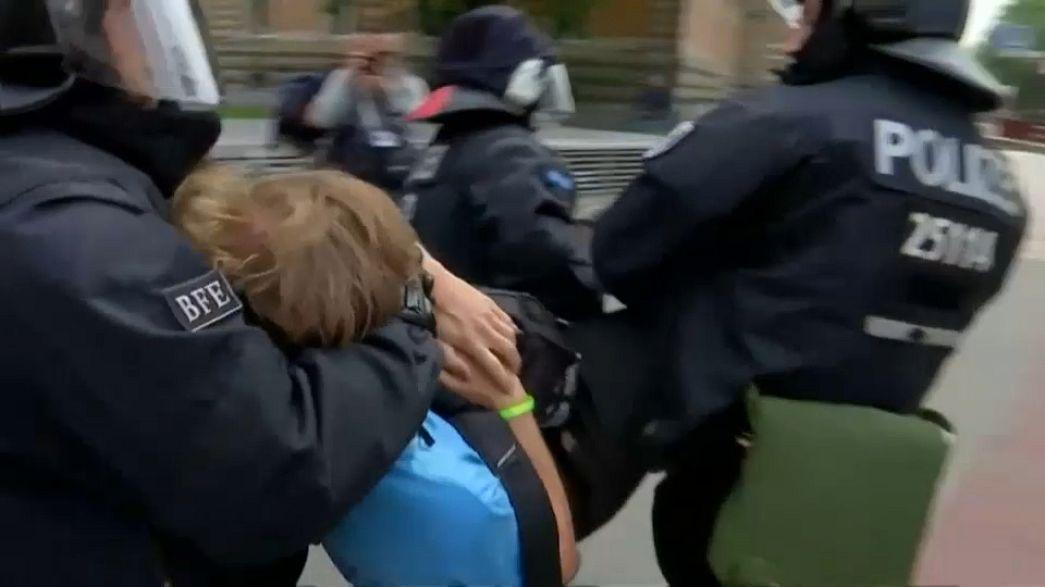 G20, oltre 200 feriti tra poliziotti e manifestanti