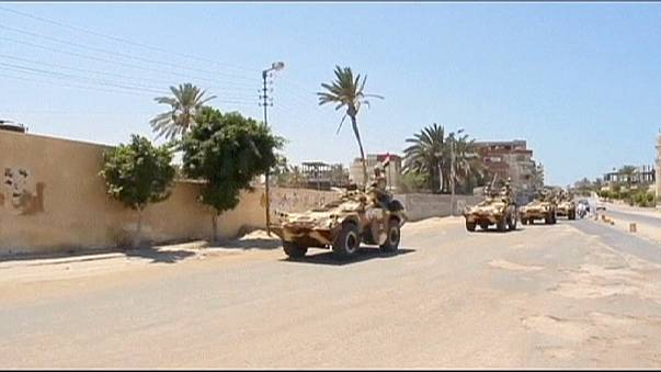 Suicide bomb attack 'kills 10 soldiers in Egypt'