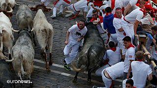 Памплона: забег с быками