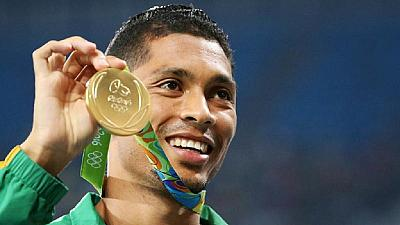 South Africa's van Niekerk sets 400m Diamond League record