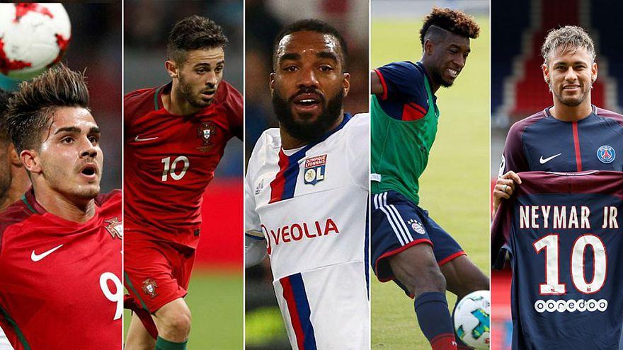 Europas Fußball: Die teuersten Transfers 2017