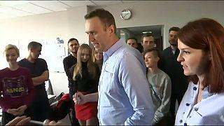 Kiengedték a börtönből Alekszej Navalnijt