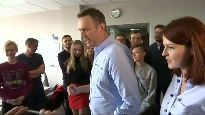 Alexej Nawalny aus Haft entlassen