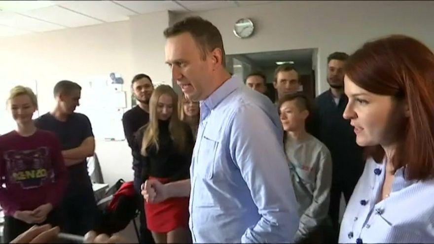 En Russie, Alexeï Navalny est sorti de prison