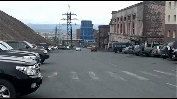 Взрыв на шахте в Норильске