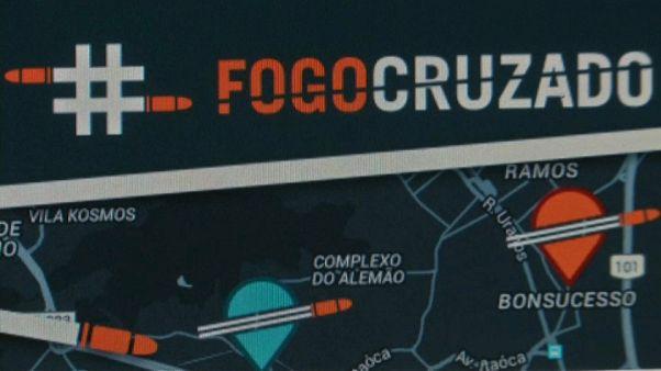 Brasile, una app per segnalare le sparatorie in corso