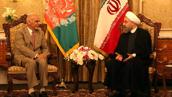 اعتراض در هلمند به سخنان حسن روحانی در مورد سدسازی در افغانستان