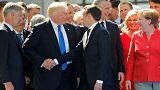 Los mejores (y peores) apretones de manos de Donald Trump