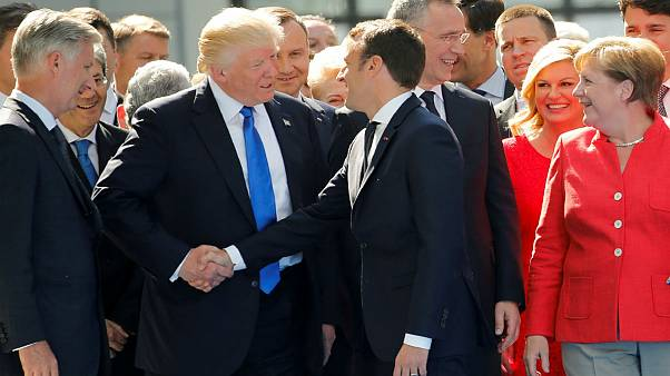 The best of Trump's most awkward handshakes