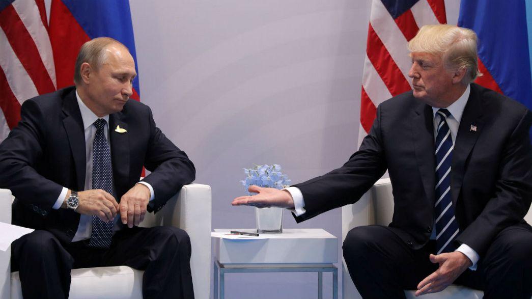 Encontro entre Putin e Trump em Hamburgo