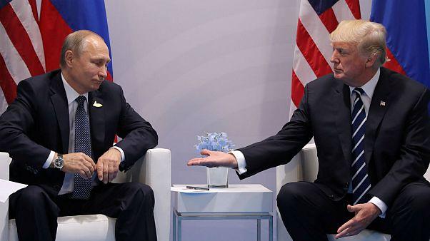 توافق ترامپ و پوتین بر سر آتش بس در جنوب غرب سوریه