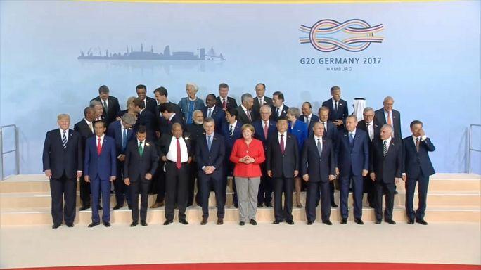 Merkel: 'G-20 Zirvesi zorlu ve çetin geçiyor'