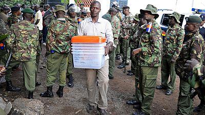 Kenya : annulation du contrat sur les bulletins de votes