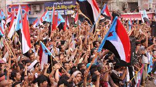 مظاهرات حاشدة في عدن للمطالبة بانفصال الجنوب