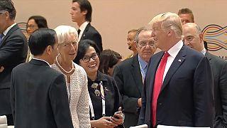 G20 : Trump isolé sur le climat, moins sur le commerce