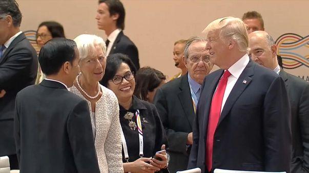 Trump protege EUA no G20