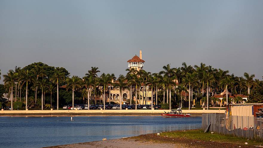 Image:  The Mar-a-Lago estate in West Palm Beach, Florida, on March 22, 201
