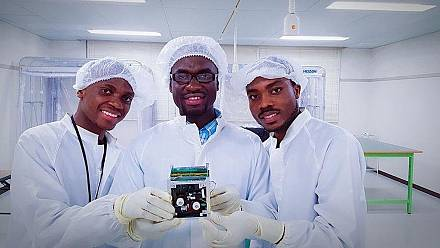 Ghana launches its first space satellite, gets presidential applause