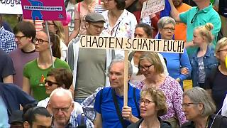 G20 : Manifestations pacifiques à Hambourg, après le chaos
