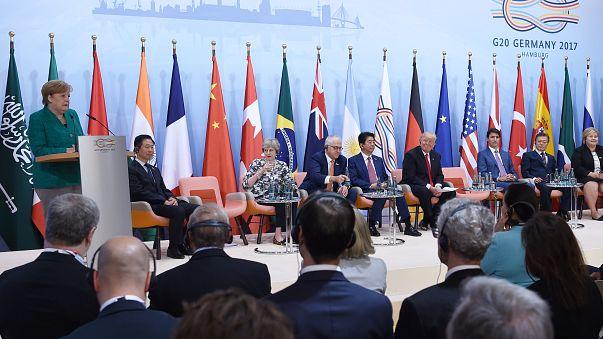 Amburgo, G20 all'insegna del compromesso sul clima