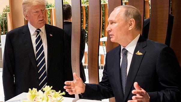 """بوتين:ترامب """"مختلف جدا"""" في الواقع عنه في التلفزيون"""