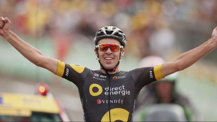 Lilian Calmejane in dramatic solo Tour de Frande win