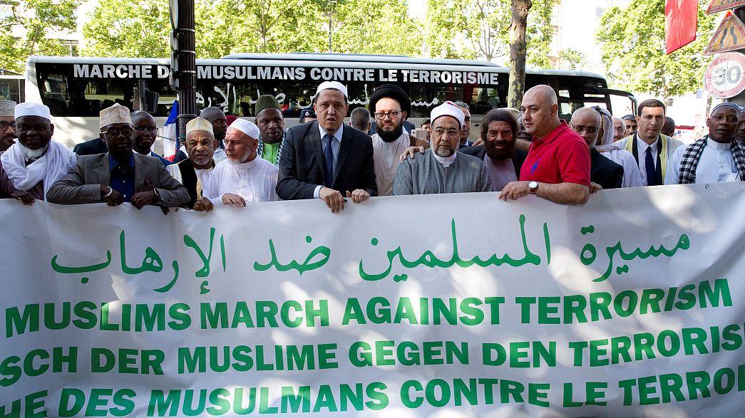 مسيرة للأئمة ضد الارهاب بمبادرة من إمام و كاتب يهودي