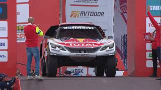 Sebastian Loeb sets marker in Silk Way starter