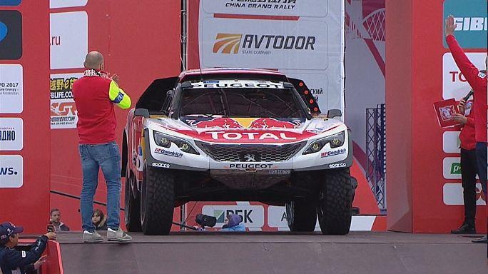 İpekyolu Rallisi'nin ilk etabını Sebastien Loeb kazandı