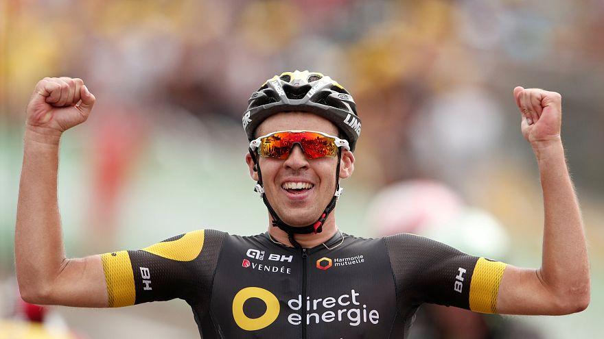 Tour de France: Calm Calmejane cruises to victory