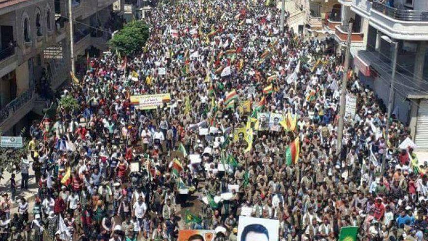 أردوغان يتوعد الأكراد في عفرين