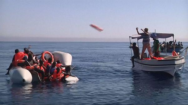 Dozens of migrants feared drowned off Libya