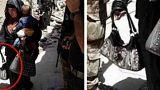 حمله انتحاری یک زن با بچه در موصل عراق