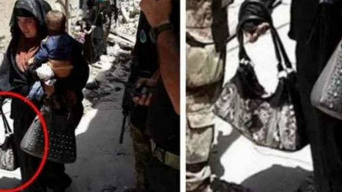 فجرت نفسها ورضيعها من أجل داعش !