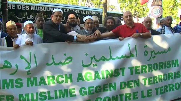 La marcia degli Imam contro il terrorismo