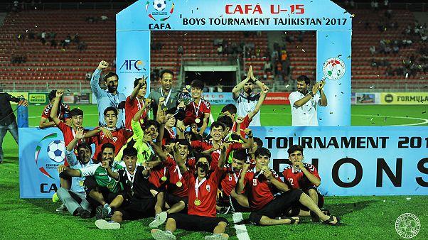 افغانستان قهرمان رقابتهای زیر ۱۵ سال آسیای میانه شد