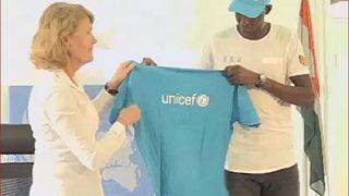 Niger : un champion de taekwondo ambassadeur de l'Unicef