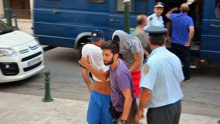 US tourist killed on Greek island