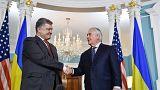 ABD Dışişleri Bakanı Tillerson Ukrayna'da
