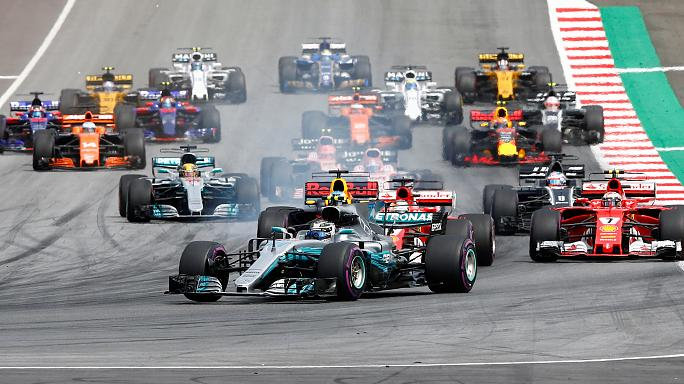 "Боттас (""Мерседес"") выиграл Гран-при Австрии"
