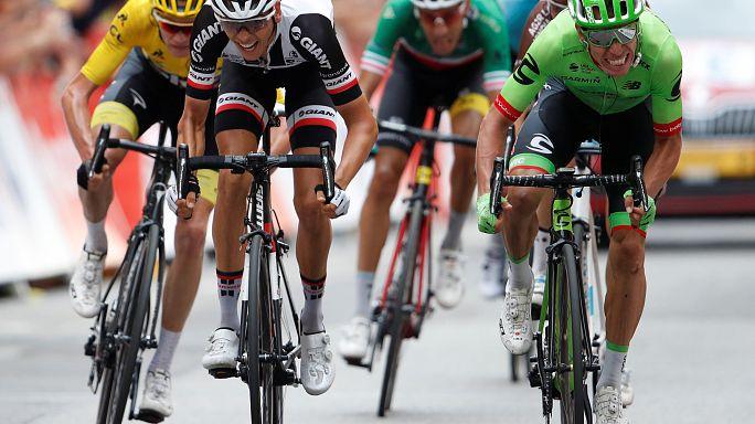 "Ригоберто Уран - победитель 9 этапа ""Тур де Франс"""