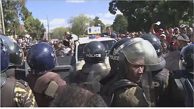 Madagascar opposition protests blocked by police