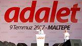 Maltepe'den 'Hak, hukuk ve adalet' sesleri yükseldi