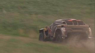 Silk Way Rally: Peterhansel leads Peugeot procession