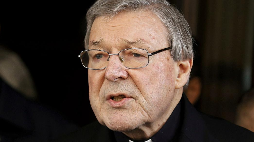 Cardinal Pell back in Australia to face sex charges