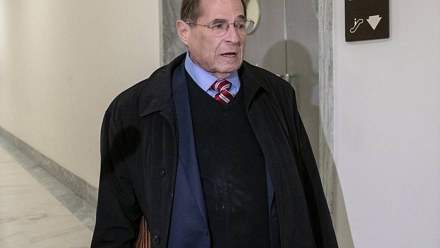Image: House Judiciary Committee Chairman Jerrold Nadler arrives at his off